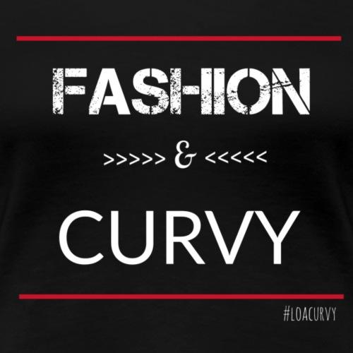 Fashion Curvy - Women's Premium T-Shirt