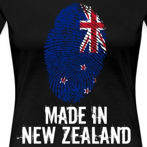 Made In New Zealand / New Zealand - Women's Premium T-Shirt