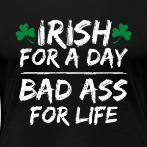 St. Patricks Day Shirt! - Frauen Premium T-Shirt