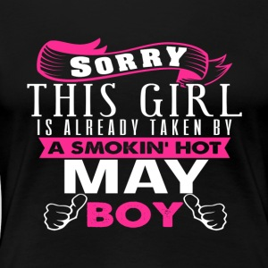 This Girl Is Already Taken By MAY - Women's Premium T-Shirt
