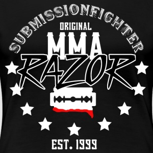 MMA - RAZOR - INNSENDELSE FIGHTER - Premium T-skjorte for kvinner