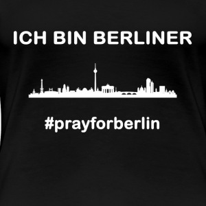 pray for Berlin - Women's Premium T-Shirt