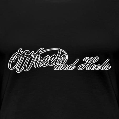 teksti - Naisten premium t-paita