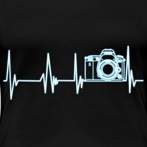 Heartbeat Photography - Dame premium T-shirt