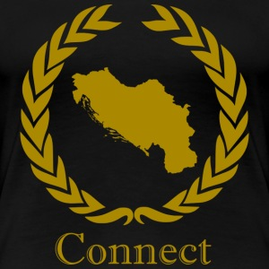 CONNECT COLLECTION LMTD. EDITION - Premium T-skjorte for kvinner