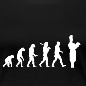Evolution Cooking! Chef! Koch! Köchin! - Frauen Premium T-Shirt