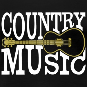 country music - Frauen Premium T-Shirt