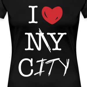 i love my city - Women's Premium T-Shirt