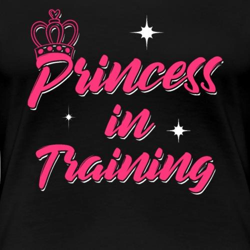 Princess In Training - Frauen Premium T-Shirt