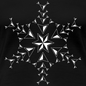 snow star - Frauen Premium T-Shirt