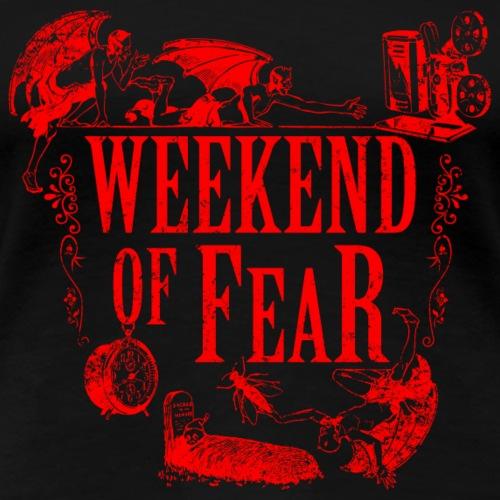 Weekend of Fear Vintage 02 Teufel - Rot - Frauen Premium T-Shirt