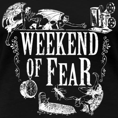 Weekend of Fear Vintage 02 Teufel - Weiss - Frauen Premium T-Shirt