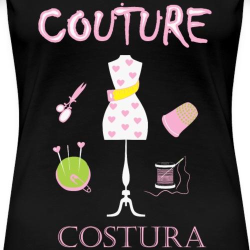 Jeg elsker couture - Premium T-skjorte for kvinner