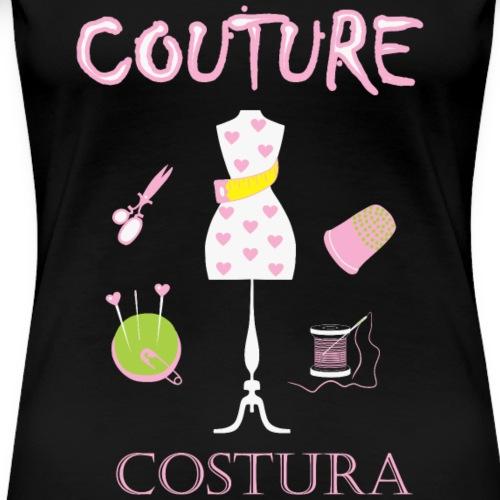Ik hou van couture - Vrouwen Premium T-shirt
