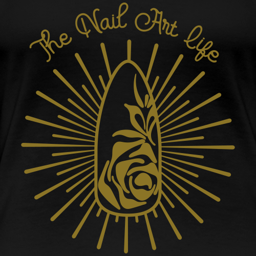 The Nail Art Life - Vrouwen Premium T-shirt