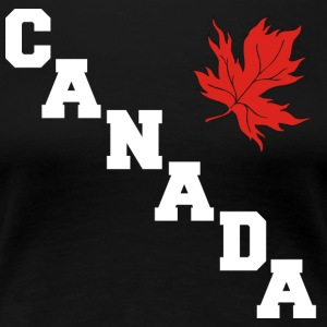 Canada Maple Leaf - Premium T-skjorte for kvinner