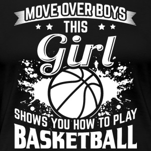 Basketball MOVEOVER - Women's Premium T-Shirt