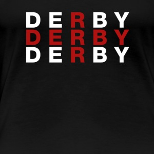 Derby United Kingdom Flag Shirt - Derby T-Shirt - Premium-T-shirt dam