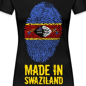 Made In Swaziland / Swaziland / Eswatini - T-shirt Premium Femme