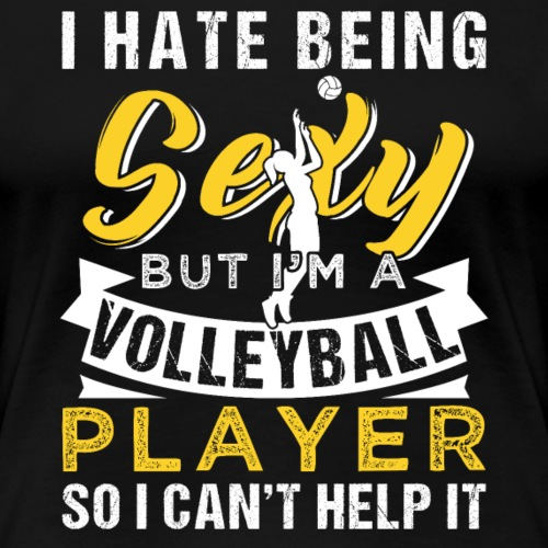 Sexy Volleyball Player - Frauen Premium T-Shirt