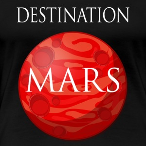 Destination Mars Space - Premium-T-shirt dam