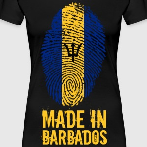 Made In Barbados - Women's Premium T-Shirt