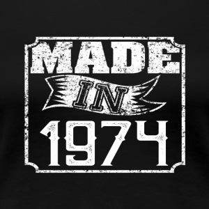 Made in 1974 - Women's Premium T-Shirt
