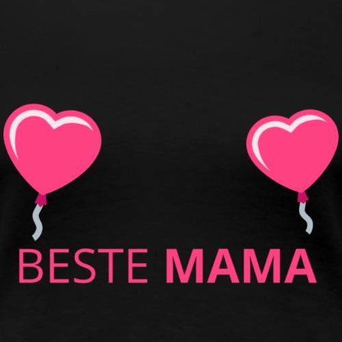 Beste Mama Muttertag - Frauen Premium T-Shirt