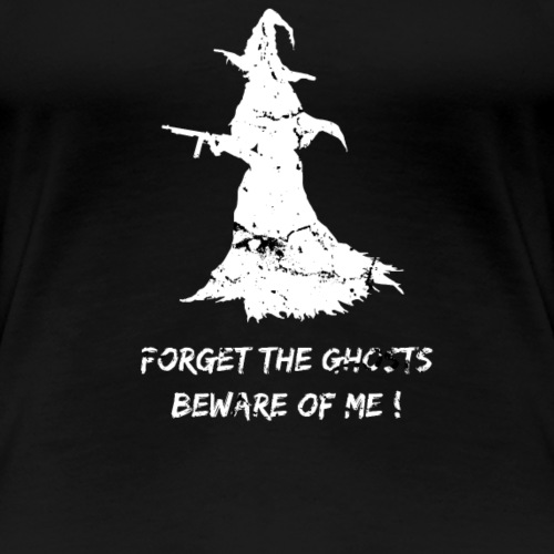 CSH Crazy Scary Halloween Witch Design - Frauen Premium T-Shirt