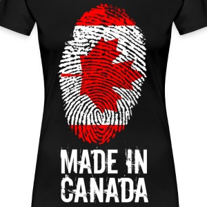 Made In Canada / Canada - Premium T-skjorte for kvinner