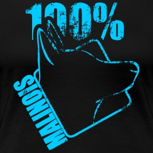 MALINOIS 100 - Women's Premium T-Shirt