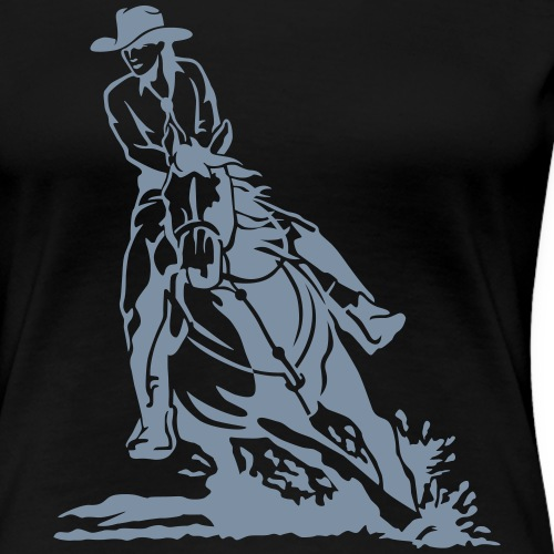 Westernriding - Frauen Premium T-Shirt