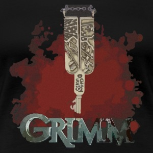 Grimm key - Women's Premium T-Shirt
