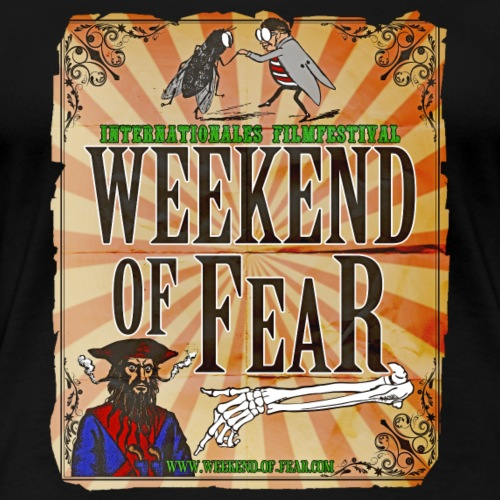 Weekend of Fear Vintage 03 Fliege - Frauen Premium T-Shirt