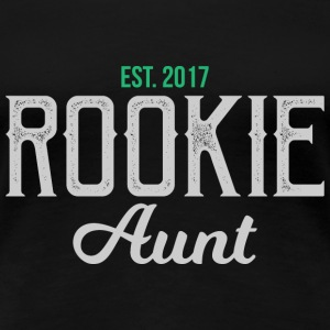 Ny tante Rookie tante gave - tante - Dame premium T-shirt