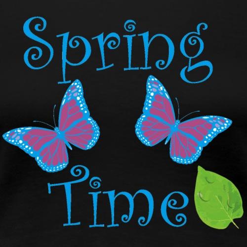 Zeit für den Frühling - Frauen Premium T-Shirt