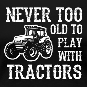 Man's toy tractor - Women's Premium T-Shirt
