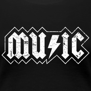 Music - Frauen Premium T-Shirt