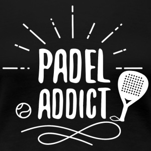 padel Addict - Women's Premium T-Shirt