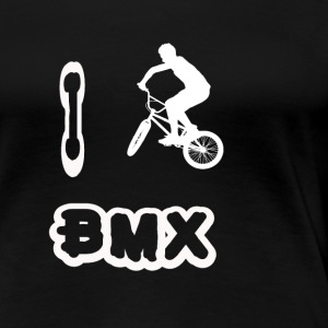 i love bmx - Women's Premium T-Shirt