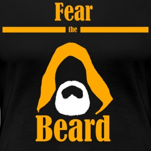 Fear the beard wars star jedi yedi bart kapuze - Frauen Premium T-Shirt
