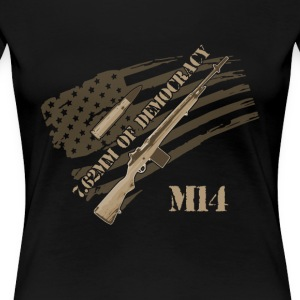 M14 RIFLE - Frauen Premium T-Shirt