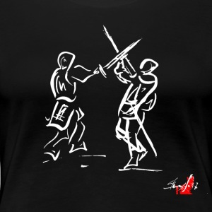 SWORD - Women's Premium T-Shirt