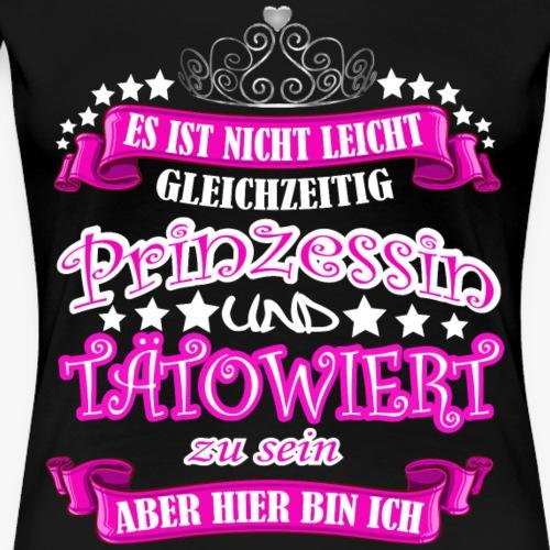 Tattoo Tätowiert - Frauen Premium T-Shirt