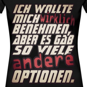 d'autres options - T-shirt Premium Femme