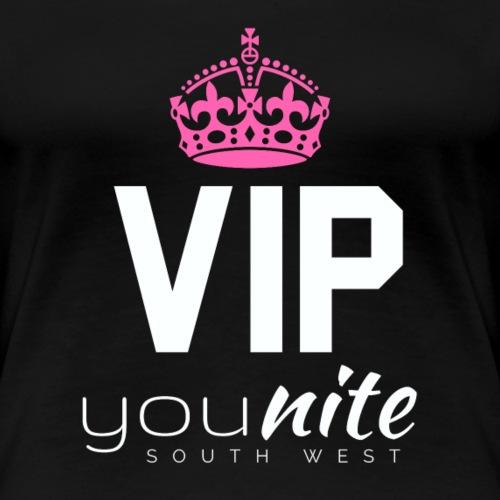 YouNite VIP White - Women's Premium T-Shirt