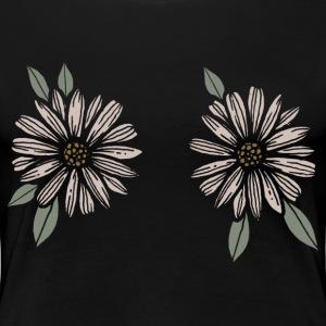 Double Daisy - Frauen Premium T-Shirt