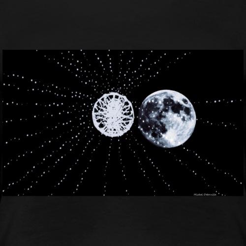 Electric Moon - T-shirt Premium Femme