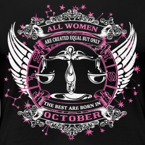 Libra October - Women's Premium T-Shirt