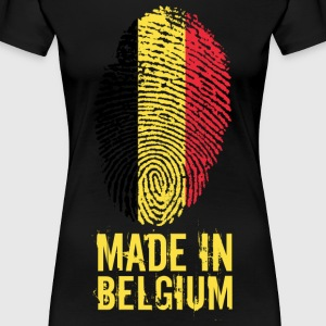 Made In Belgia / Belgia / Belgique / België - Premium T-skjorte for kvinner